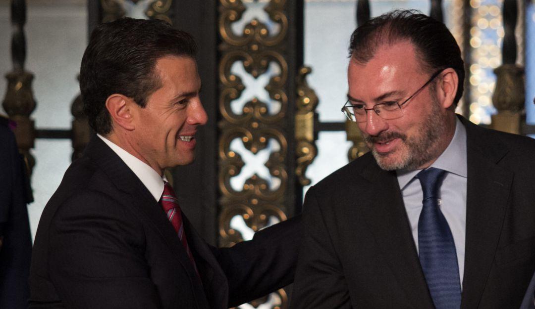 Juez rechaza citar a declarar a Enrique Peña Nieto y Luis Videgaray