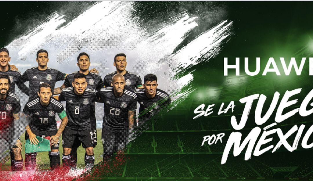 México es campeón y Huawei paga apuesta