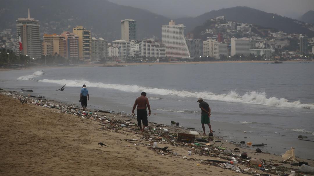 Encuentran en playas de Acapulco altos niveles de bacteria fecal
