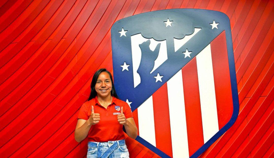 Charlyn Corral es nueva jugadora del Atlético de Madrid