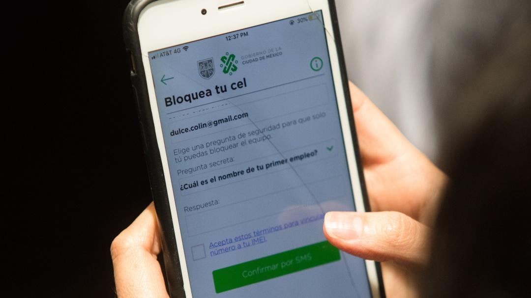 Así puedes bloquear tu celular después de un robo