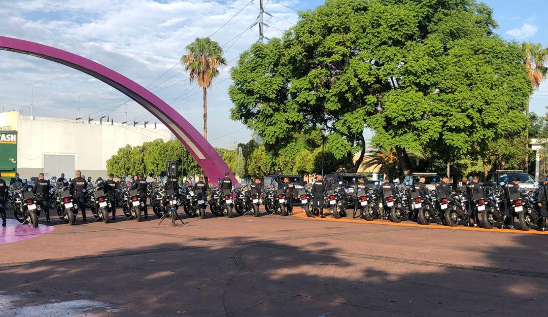 Entregan unidades a la Policía de Guadalajara para reforzar patrullaje