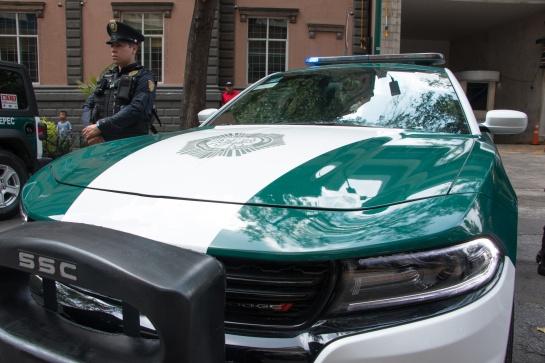 Las nuevas patrullas de la CDMX cuentan con reconocimiento facial