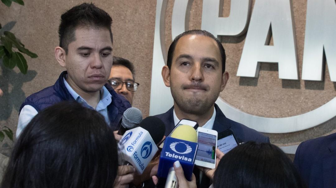 Los diputados de BC serán expulsados del PAN: Marko Cortés