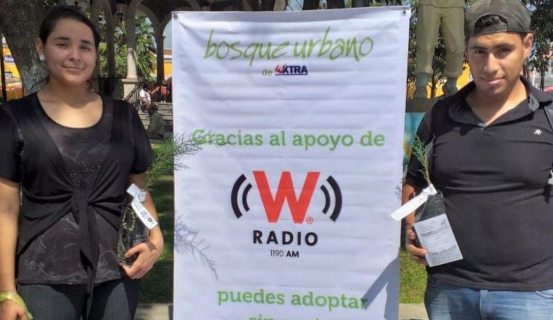 W Radio y Extra donan más de 800 árboles a Zapopan