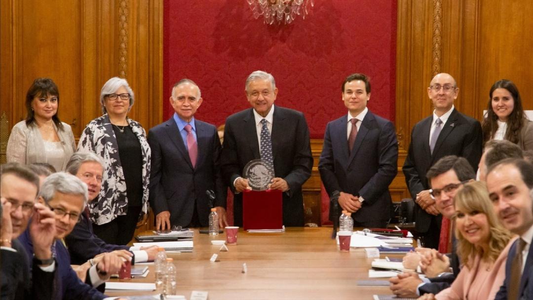 AMLO se reúne con empresarios de Nuevo León