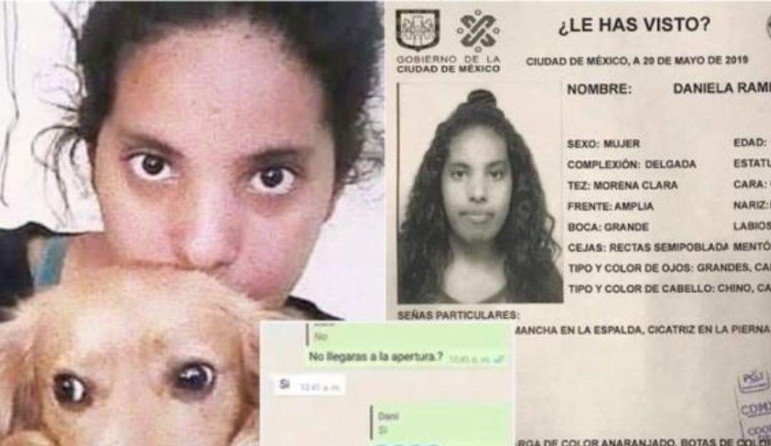 Mamá de Daniela pide certeza en investigación sobre desaparición de su hija
