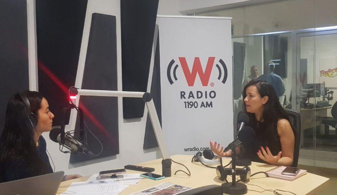 Entrevista con Mirza Flores diputada