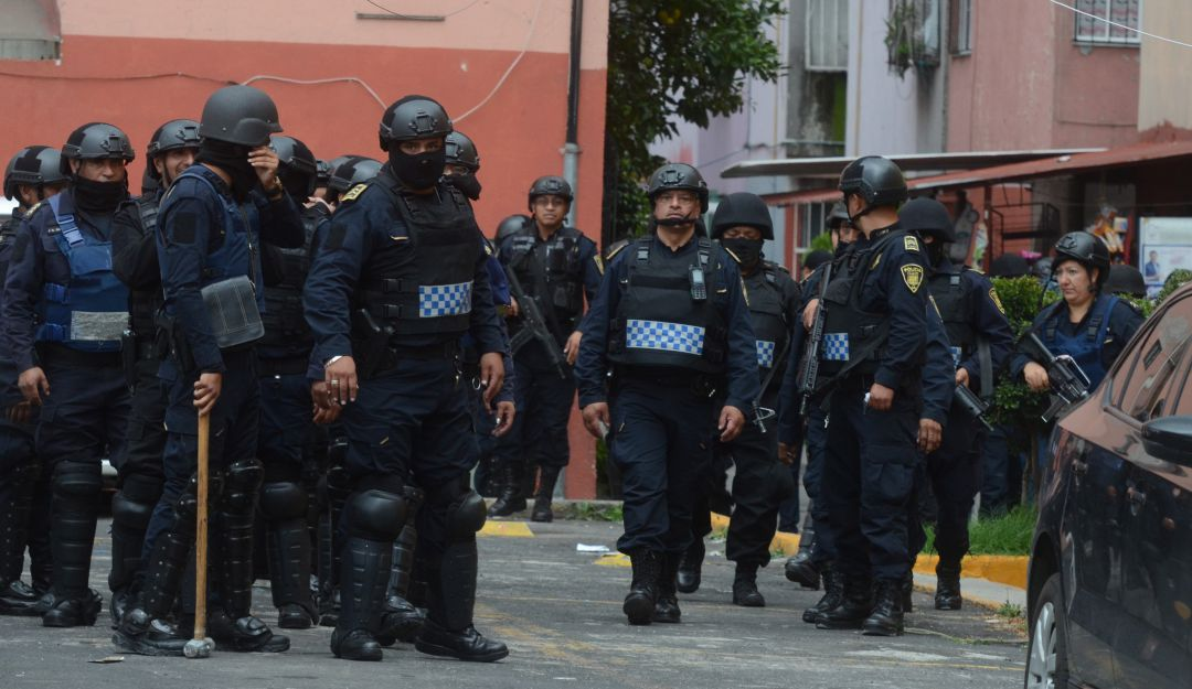 """""""El Frentón"""" miembro de """"Los Rodolfos"""" es detenido en Xochimilco"""