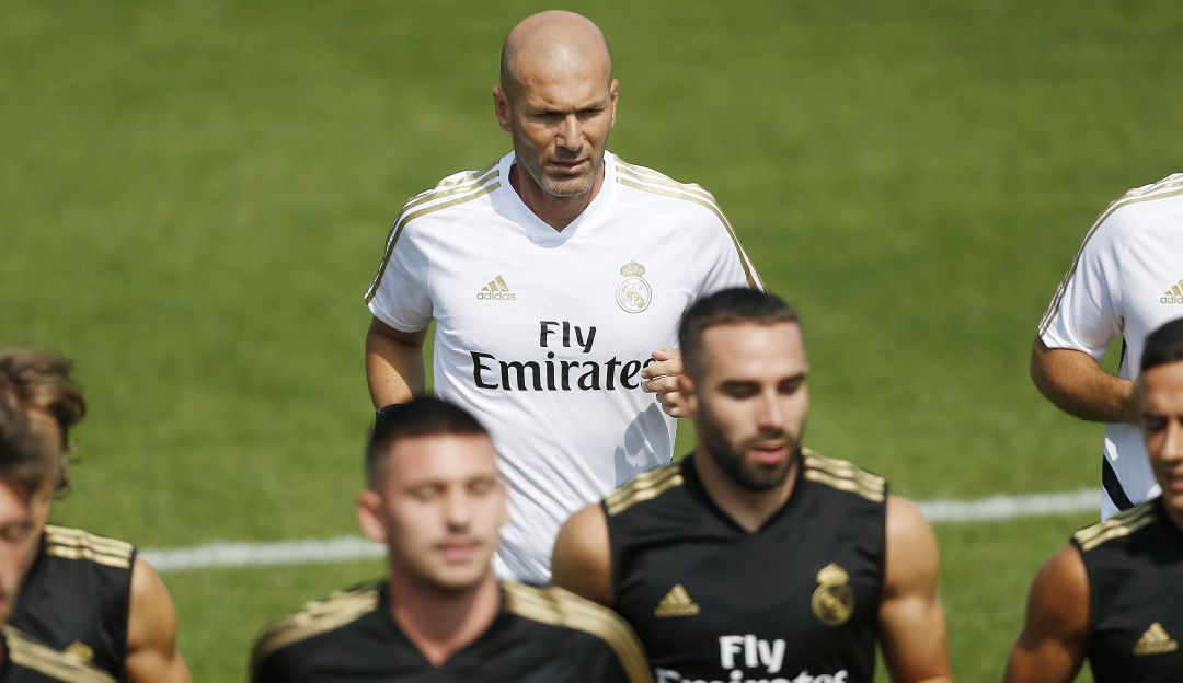 Zinedine Zidane regresa al Madrid