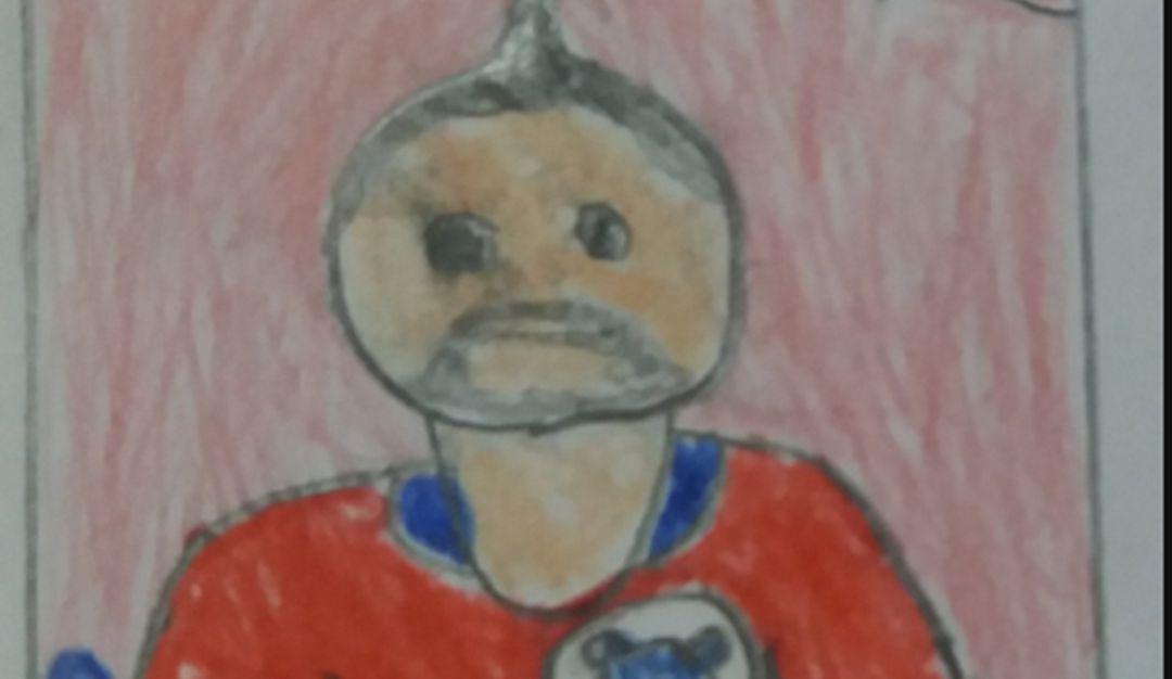 Niño no completa álbum y dibuja a sus futbolistas; el final te sorprenderá