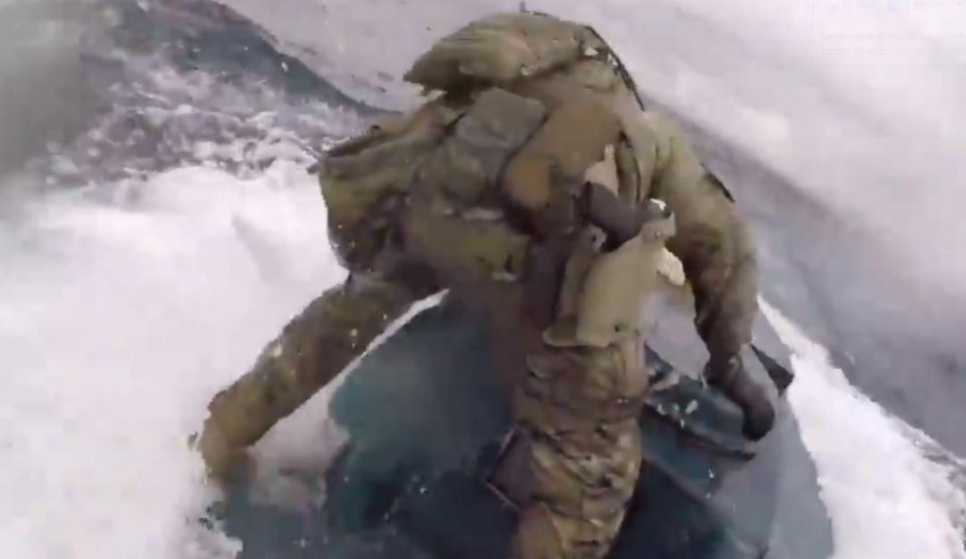 Guardia Costera intercepta submarino con estupefacientes