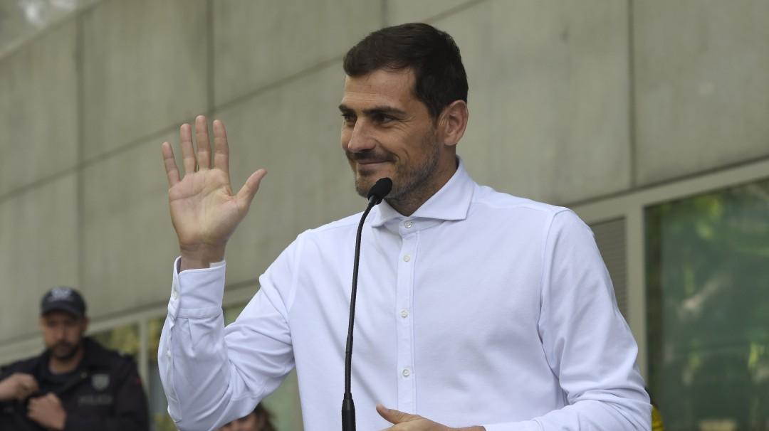 Iker Casillas se retira temporalmente