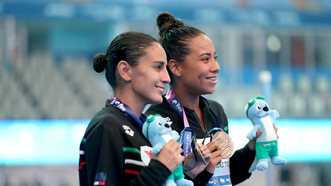 Paola Espinosa y Melany Hernández a Tokio 2020