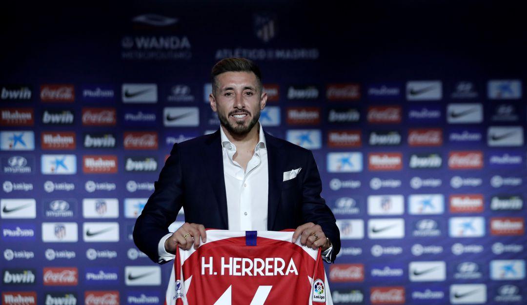 Héctor Herrera marcó su primer golazo con el Atlético de Madrid