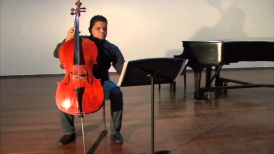 Recital de violonchelo y piano por Jean Carlos Coronado Cabrices