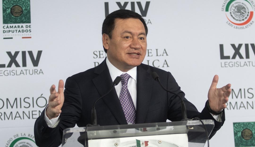 """Rechaza Osorio Chong """"pacto"""" en captura de Javier Duarte"""