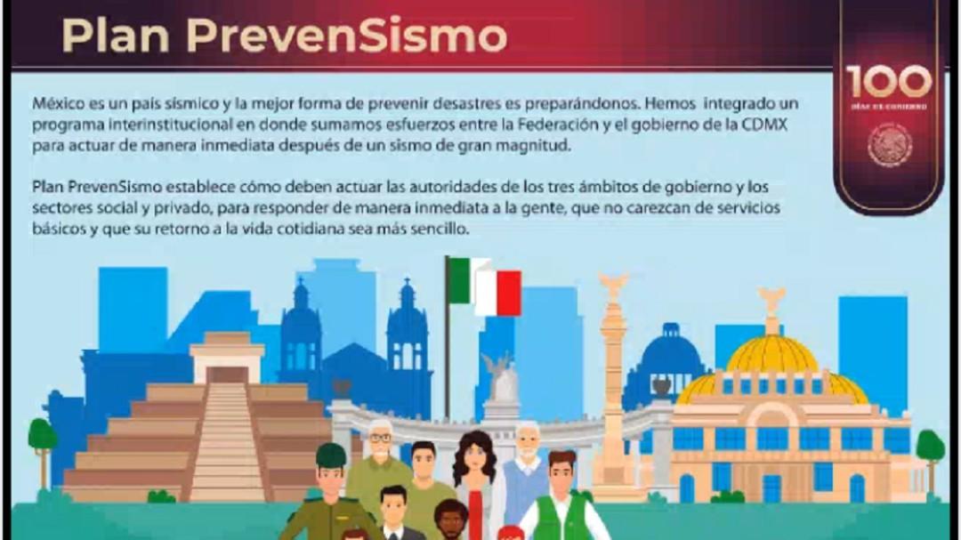 #PrevenSismo busca a 40 mil becarios: Protección Civil