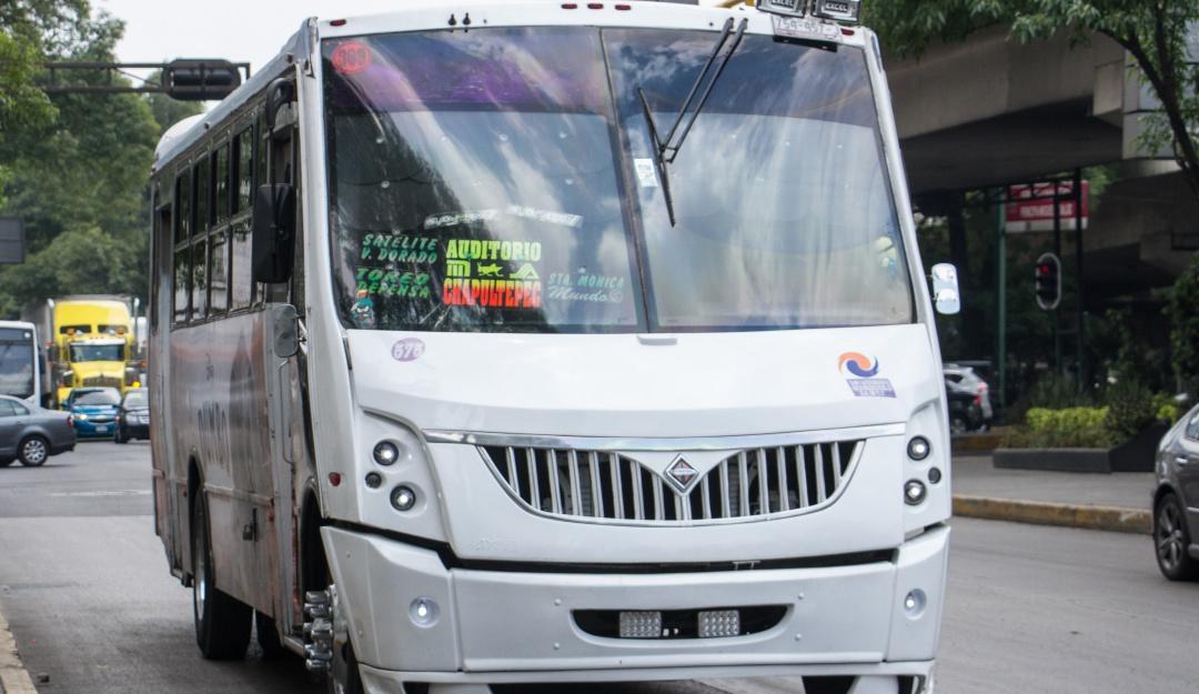 Creará gobierno CDMX padrón de choferes del transporte público