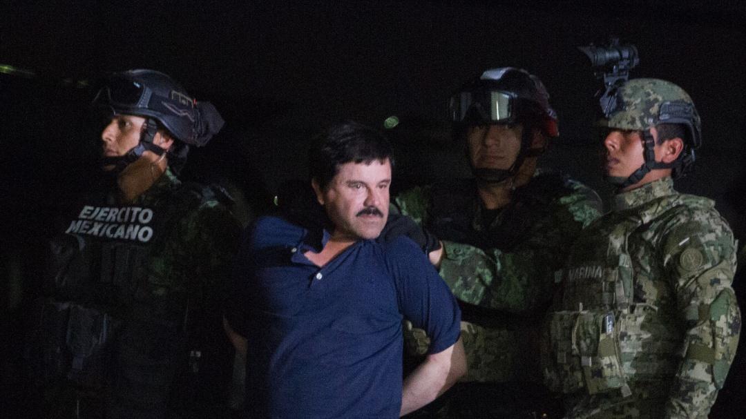 """Revelan imágenes inéditas de """"El Chapo"""" Guzmán en prisión"""