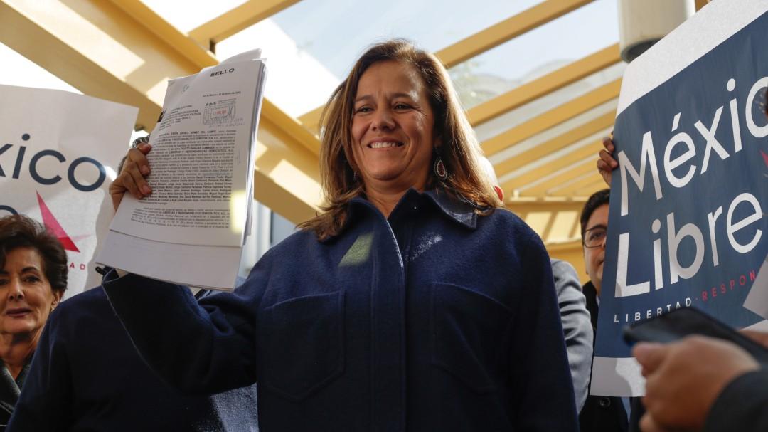 Los partidos grandes se hicieron chicos: Margarita Zavala