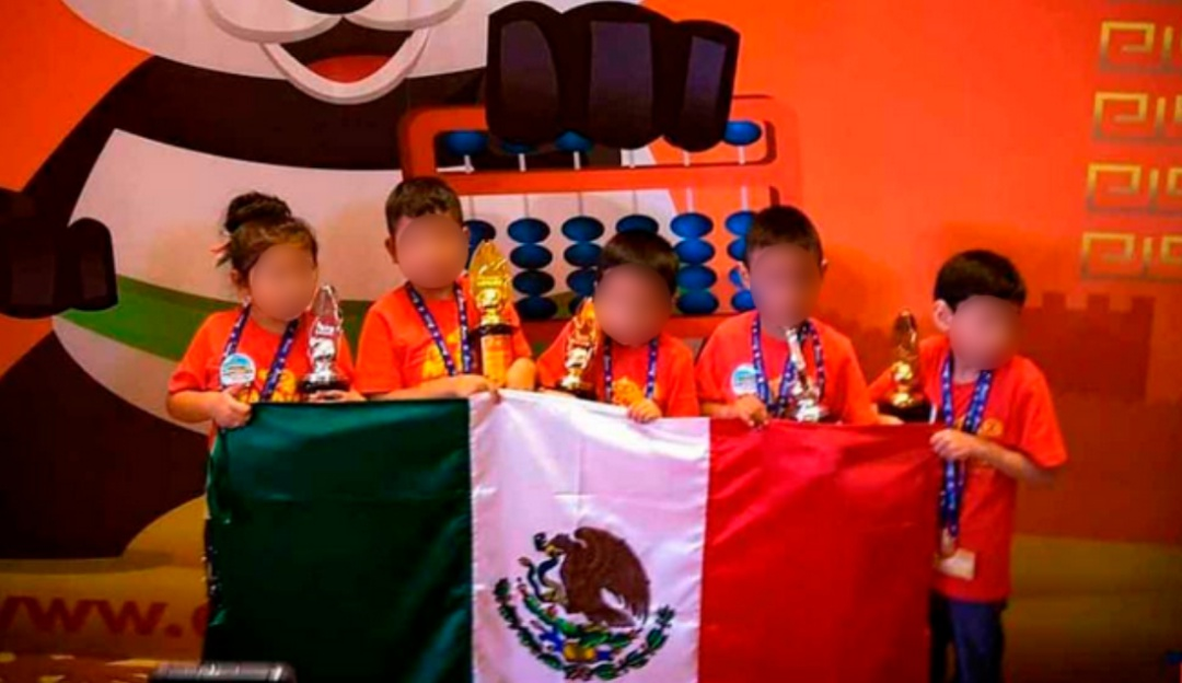 Pequeñitos que dan orgullo; niños hidalguenses ganan concurso de aritmética