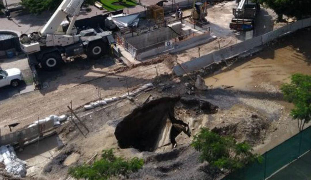 Rechazan daños al túnel de la L3 luego del socavón en Av. Alcalde