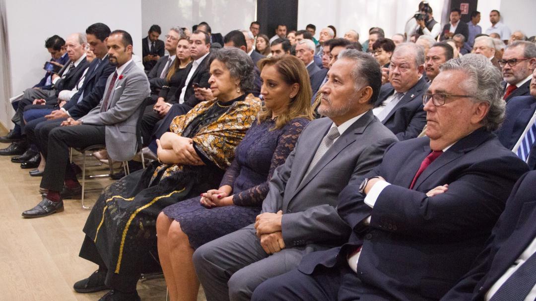 Rinden homenaje a José Francisco Ruiz Massieu a 73 años de su natalicio