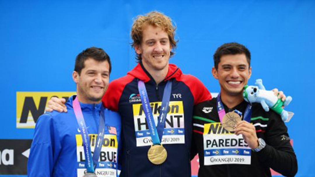 ¡Jonathan Paredes gana bronce para México en clavados!