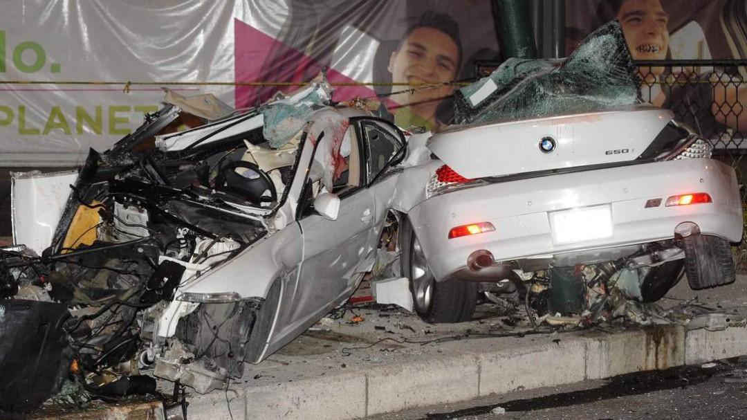 Conceden libertad condicional a conductor de BMW que chocó en Reforma