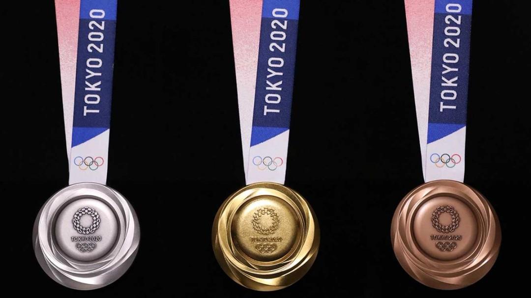 Estas son las medallas que se darán en Tokyo 2020