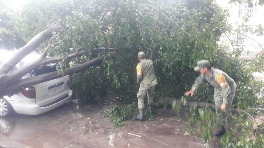 Activan Plan DNIII por tormenta en Zapopan