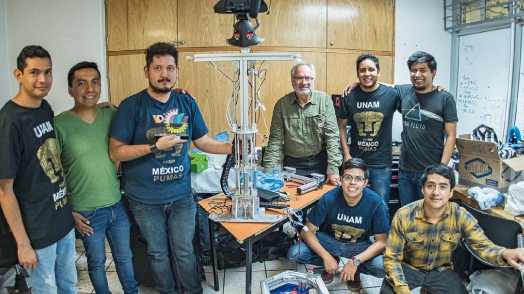 Justina, el androide de la UNAM que tirunfa en Australia
