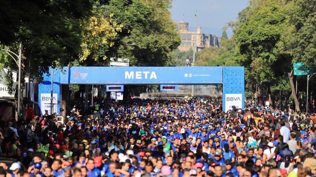 Se dio un hecho desafortunado en la media maratón de la CDMX