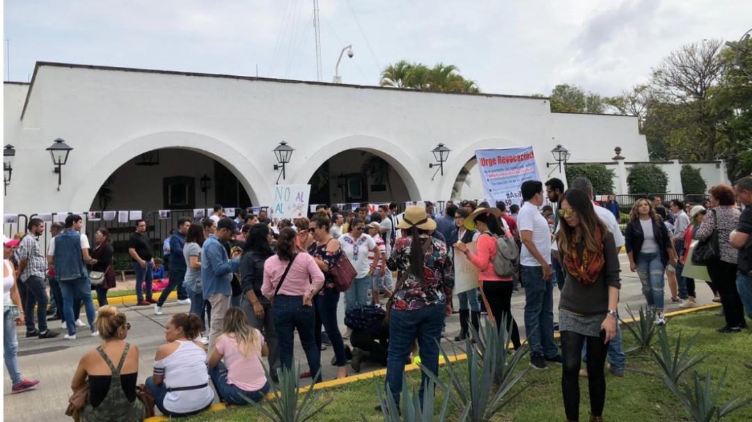 Protestas por aumento a la tarifa del transporte público