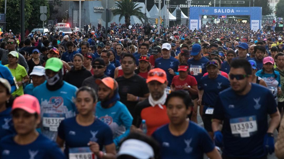 Salen a correr el medio maratón; las encierran y asaltan