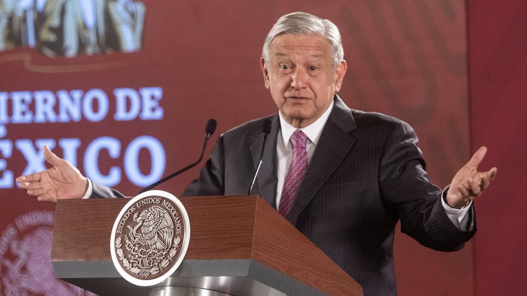 Ley Garrote era necesaria para poner orden, asegura López Obrador
