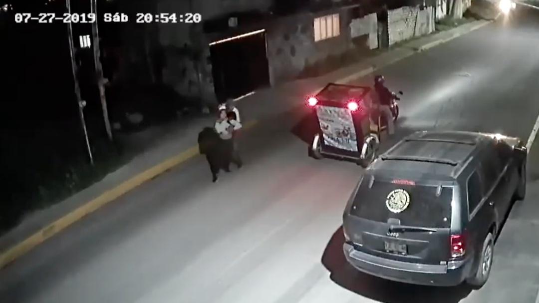 Héroe sin capa; mujer se salva de un crimen gracias a un mototaxista