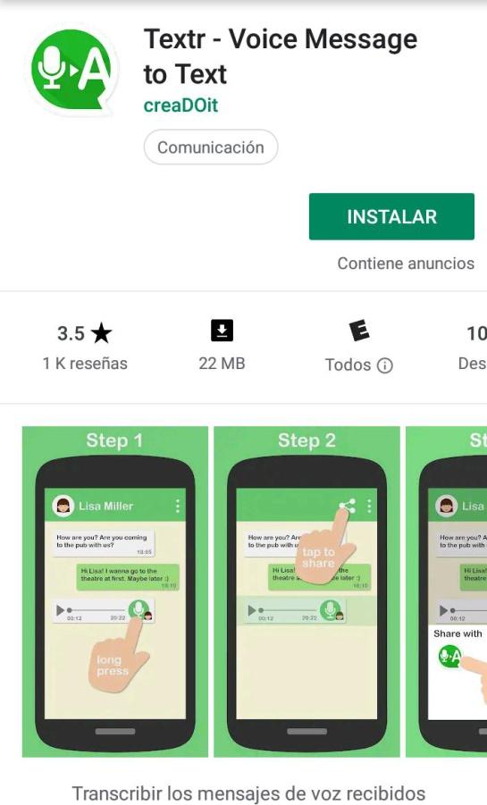 WhatsApp: aquí te decimos cómo pasar tus audios de voz a mensajes de texto