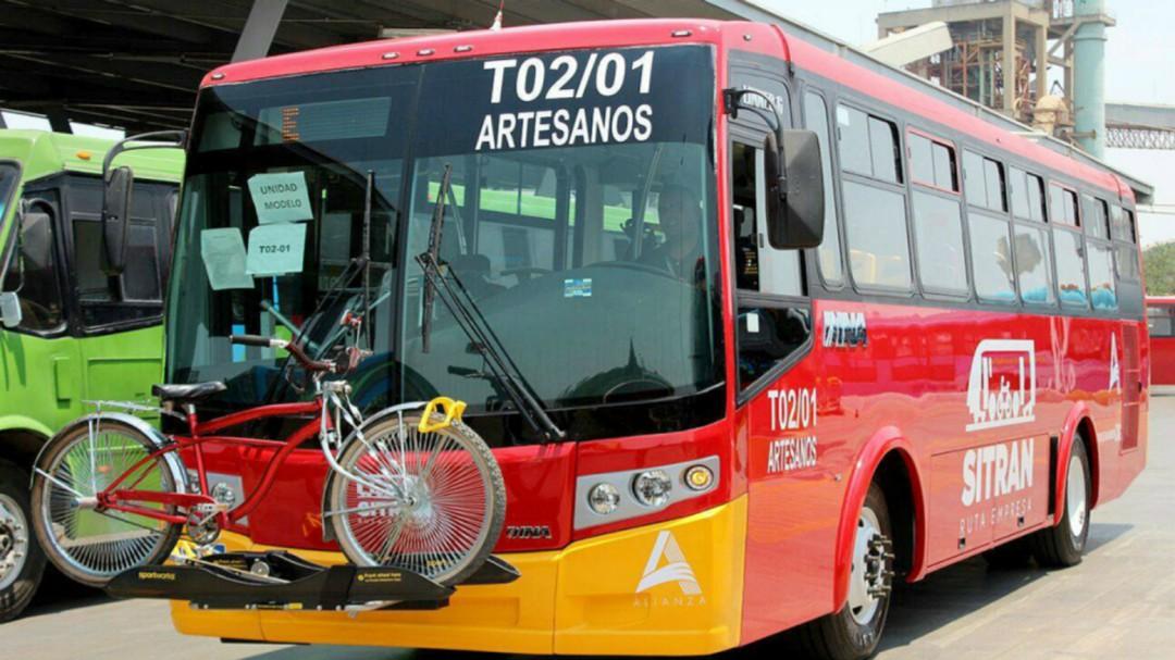 Disminuyen robos a choferes del transporte público