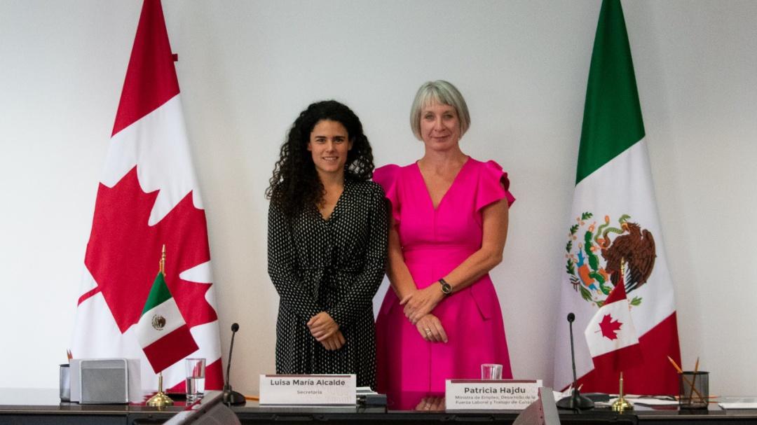 Formalizan México y Canadá colaboración en materia laboral