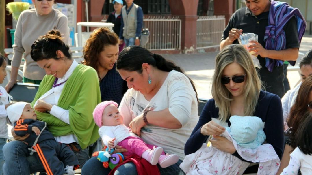 Impulsan lactancia materna en el DIF
