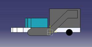 Politécnicos crean vehículo colector de sargazo