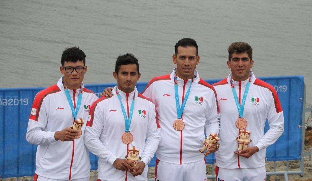 ¡México ya es tercero del medallero!