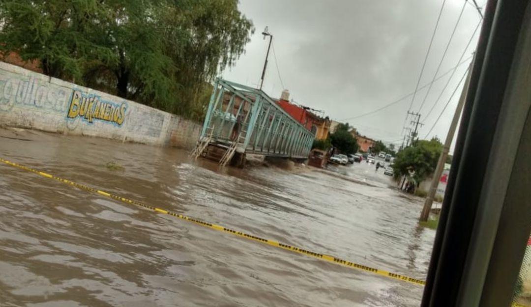 El Arenal también afectado por lluvias