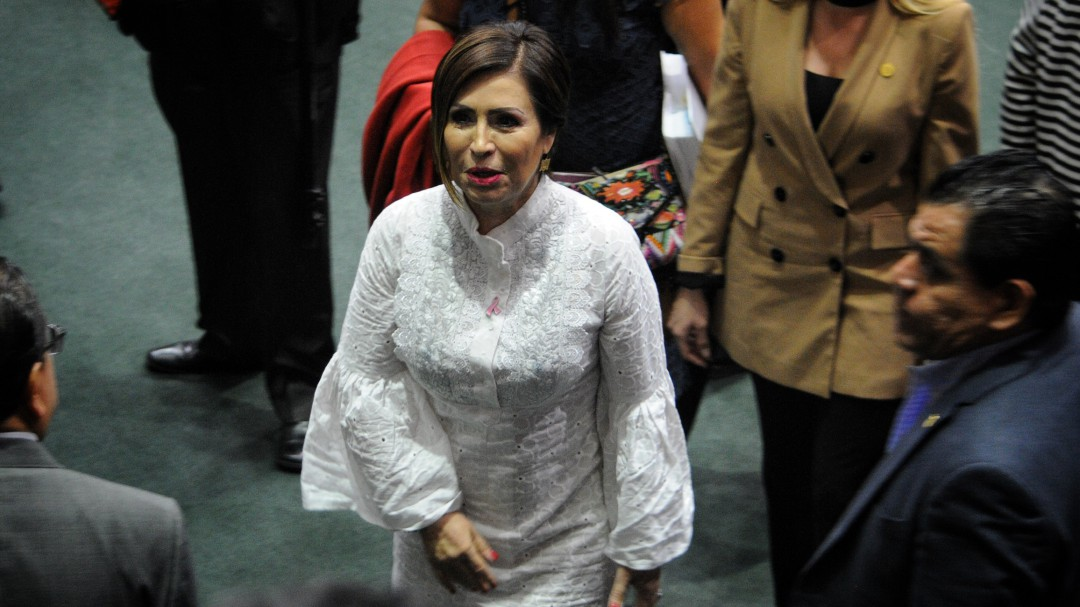 Rosario Robles comparece ante juez federal