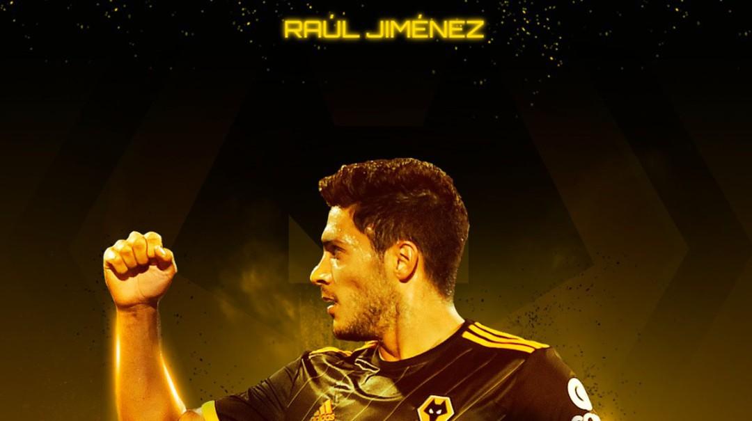 Raúl Jiménez brilló en la Europa League
