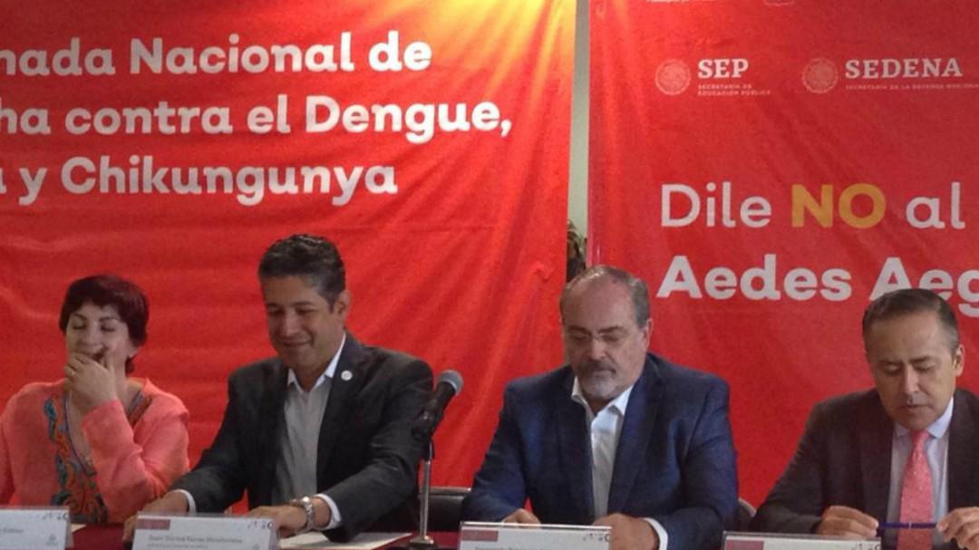 Educación y Salud emprenden campaña contra el dengue