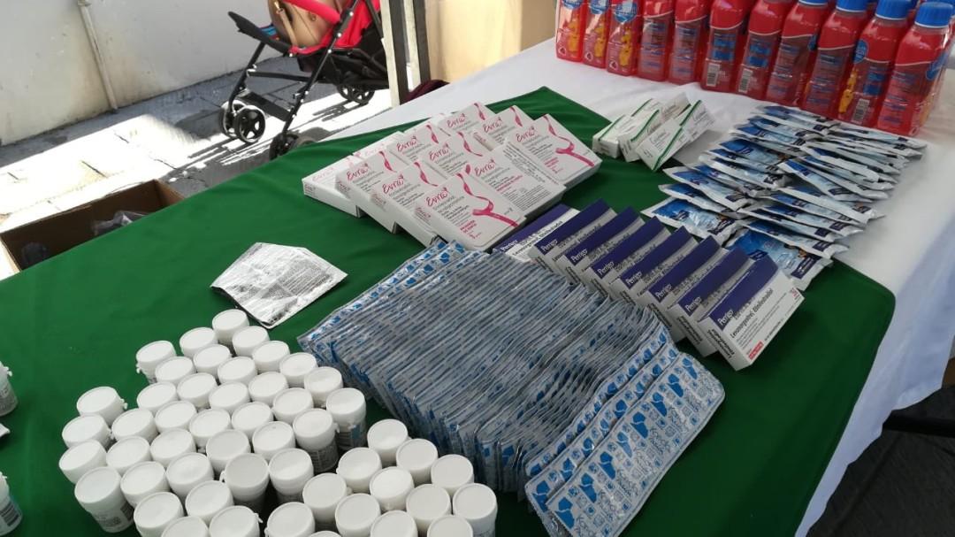 Realizan Feria de la Salud en Guadalajara