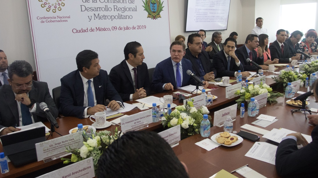 Conago pide a FGR voluntad política para abatir delitos y tráfico de armas